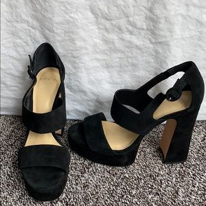 Alexandre Birman heels in black suede